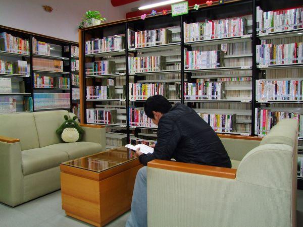 圖書館和咖啡攤 006